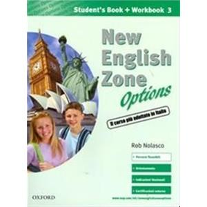 NEW ENGLISH ZONE OPTIONS - STUDENT'S MULTIMEDIA PACK 3