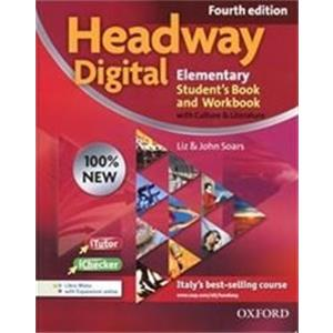 NEW HEADWAY DIGITAL 4TH ELEMENTARY. student's book-workbook. with key. con espansione online. per le scuole superiori. con cd-rom