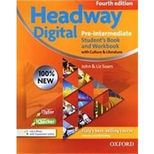 NEW HEADWAY DIGITAL 4TH PRE-INTERMEDIATE: MISTO SPECIAL S/C. SB&WB + ITUT + ICHECK + ESPANSIONE ONLINE