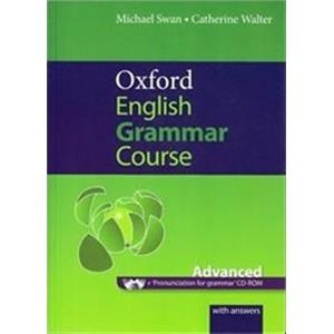 OXFORD ENGLISH GRAMMAR COURSE ADVANCED student's book. with key. con cd-rom