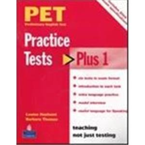 PET PRACTISE TESTS PLUS - VOL. 1 - STUDENT'S BOOK NO KEY + AUDIO CD PACK
