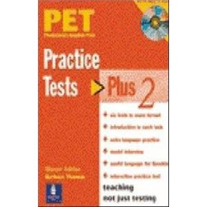 PET PRACTISE TESTS PLUS - VOL. 2- WITH KEY AND CD AUDIO PACK