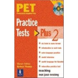 PET PRACTISE TESTS PLUS - VOL. 2 - STUDENT'S BOOK WITH KEY AND CD AUDIO PACK