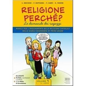 RELIGIONE PERCHE' VOL.1 - CLASSE 1 E 2 + CD