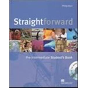STRAIGHTFORWARD - PRE-INTERMEDIATE - STUDENT'S BOOK + CD