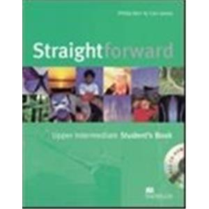 STRAIGHTFORWARD - UPPER-INTERMEDIATE - STUDENT'S BOOK + CD ROM