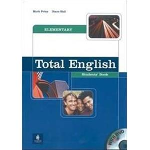 TOTAL ENGLISH - ELEMENTARY - STUDENT'S BOOK + DVD
