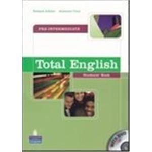 TOTAL ENGLISH - PRE-INTERMEDIATE - STUDENT'S BOOK + DVD