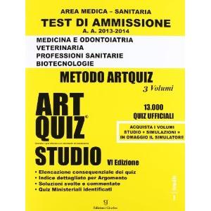 9904188 -  TEST DI AMMISSIONE AREA MEDICO SANITARIA   ART QUIZ   STUDIO